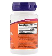Now Foods, Витамин A, 10 000 МЕ, 100 мягких таблеток, фото 2