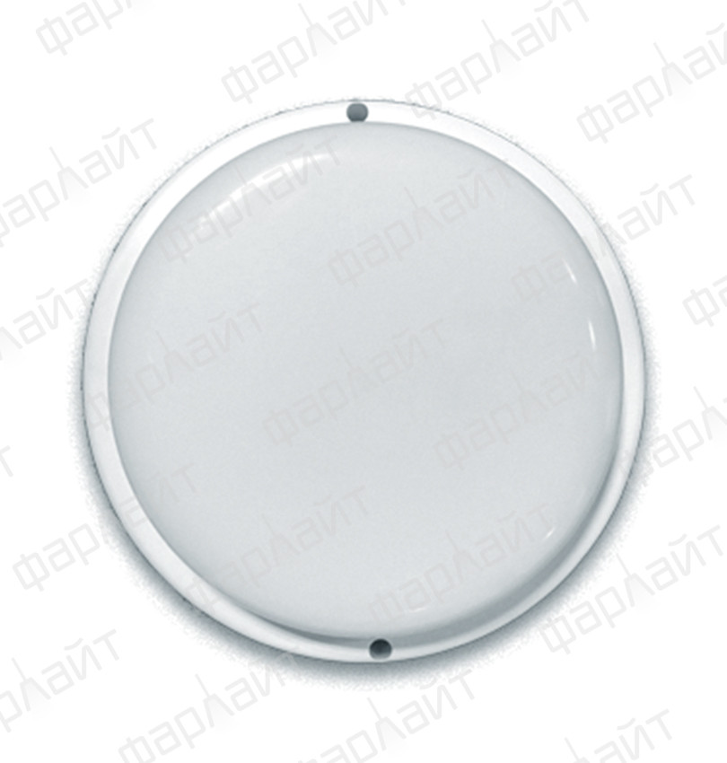 Светильник сд герм СПП 18Вт 230В 6500К 1440Лм КРУГ IP65 Фарлайт