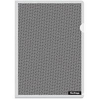 """Папка-уголок Berlingo """"xFiles"""", А4, 150мкм, прозрачная"""
