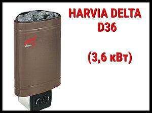 Электрическая печь Harvia Delta D36 со встроенным пультом
