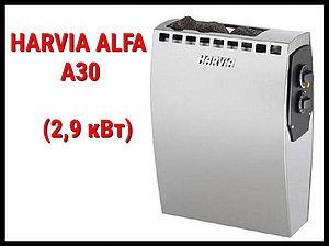 Электрическая печь Harvia Alfa A30 со встроенным пультом