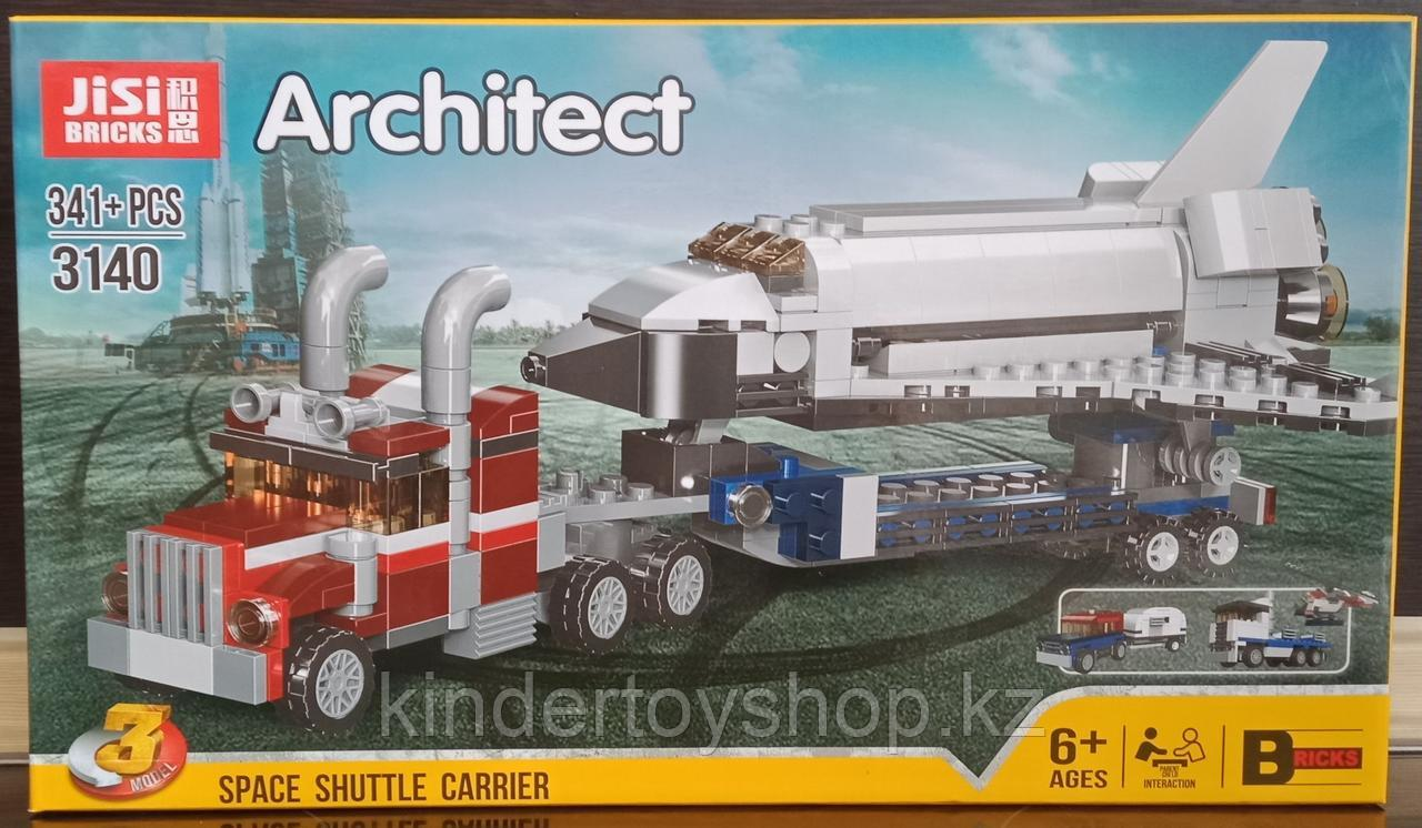 Конструктор Decool 3140 Architect аналог лего  LEGO Creator 31091 Транспортировщик шаттлов