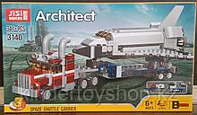 Конструктор Decool 3140 Architect аналог лего  LEGO Creator 31091 Транспортировщик шаттлов