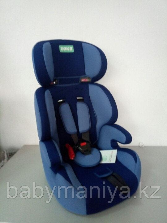 Автокресло 9-36 кг Zoko синий