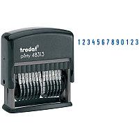 Нумератор автоматический Trodat 48313, 42*3,8мм, 13 разрядов, пластик 53198