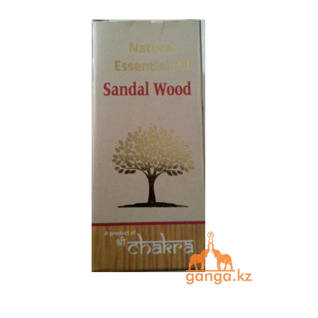 Натуральное эфирное масло Сандал (Sandal Wood CHAKRA), 10 мл