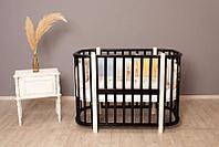 Кроватка детская Incanto Nuvola 3 в 1 венге/слоновая кость