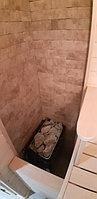 "Финская сауна в квартире. Размер = 1,2 х 0,9 х 2,1 м. Адрес: г. Алматы, ЖК ""Хан Тенгри"" 5"