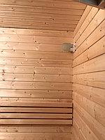 "Финская сауна в квартире. Размер = 1,2 х 0,9 х 2,1 м. Адрес: г. Алматы, ЖК ""Хан Тенгри"" 21"