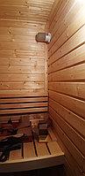 "Финская сауна в квартире. Размер = 1,2 х 0,9 х 2,1 м. Адрес: г. Алматы, ЖК ""Хан Тенгри"" 22"