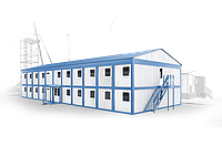 Быстровозводимое блочно-модульное здание общежитие