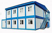 Быстровозводимый 192 кв.м мобильный блочно-модульное здание гостиница, общежития 180 кв.м