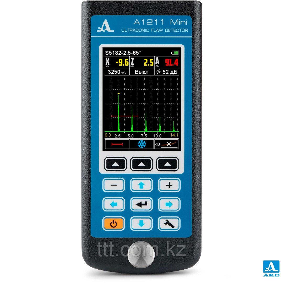Миниатюрный ультразвуковой дефектоскоп А1211 Mini