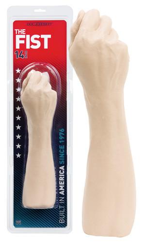 """Стимулятор - рука для фистинга """"The Fist"""", L 33.5 см, ПВХ"""