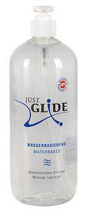 """Вагинальная гель-смазка """"JUST GLIDE"""", на водной основе, 1 литр, Германия"""