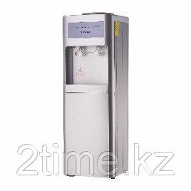Кулер для воды ALMACOM WD-SHE-26CE, НАПОЛЬНЫЙ, со шкафчиком электронное охлаждение и нагрев, серый.