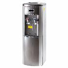 Кулер для воды ALMACOM WD-SСО-2AF напольный, со шкафчиком, компрессорное охлаждение и нагрев, серебристый