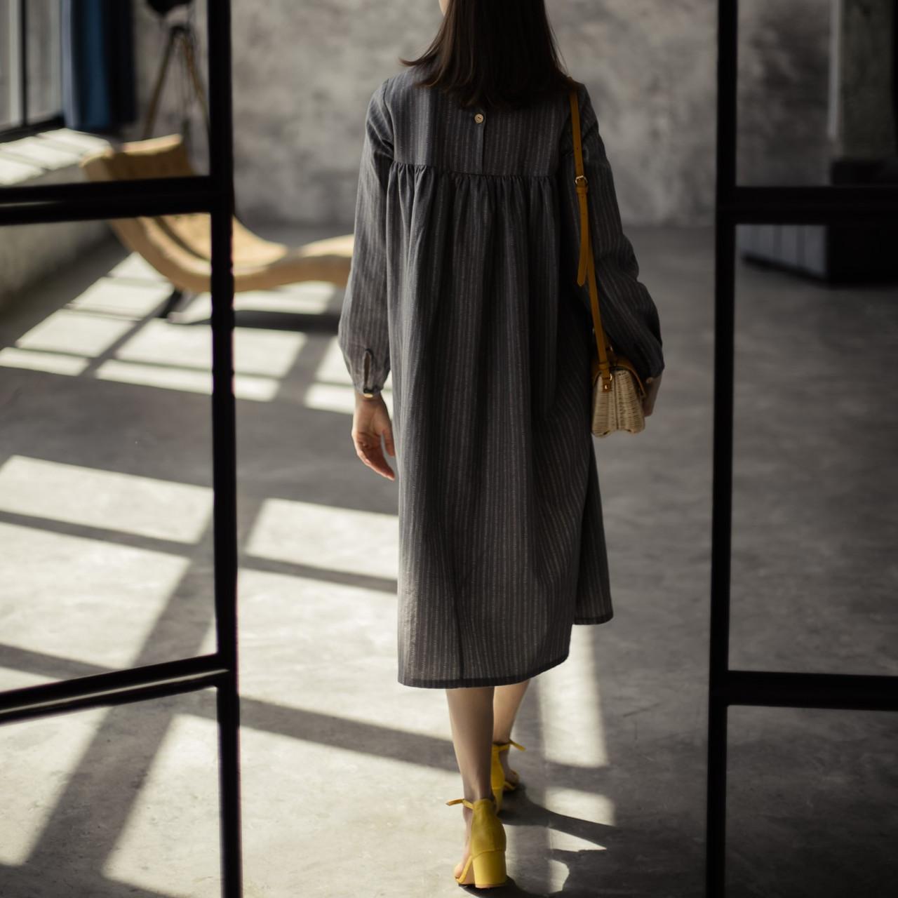 Льняное платье для женщин. - фото 2