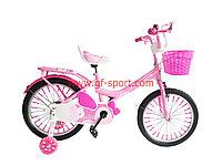 Велосипед Phillips Принцесса розовый оригинал детский с холостым ходом 18 размер