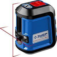 ЗУБР КРЕСТ 15 нивелир лазерный, суперкомпакт, 15м, точн. +/- 0,3мм (34902_z01)