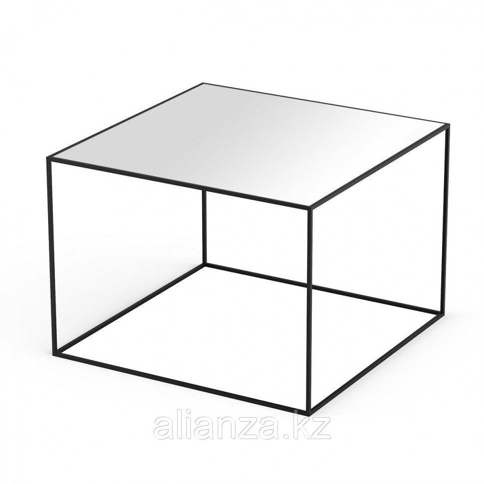 Кофейный столик Sonorous KL 49 WHT BLK