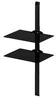 Тумба для ТВ настенная Sonorous PL2620B HBLK