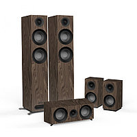 Комплект акустических систем Jamo S 807 HCS Walnut
