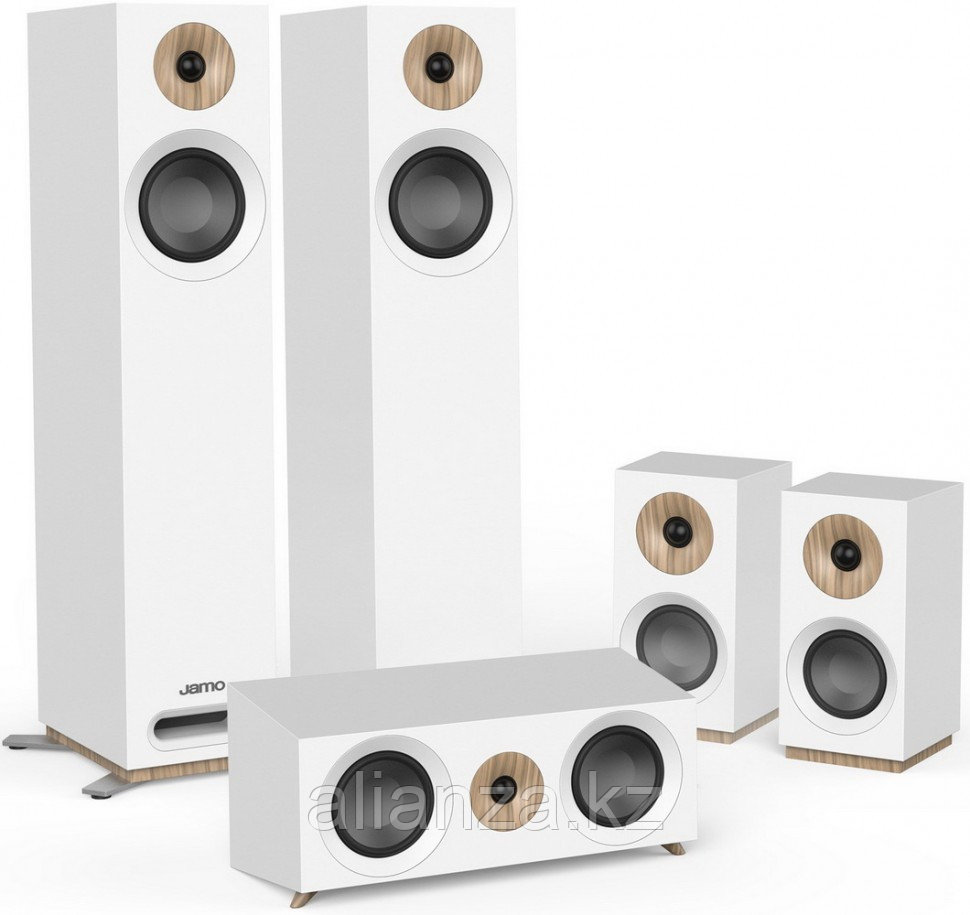 Комплект акустических систем Jamo S 805 HCS White