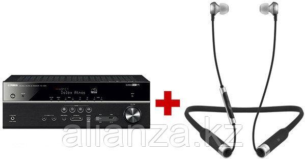 AV ресивер Yamaha RX-V585 Black + RHA MA650 Wireless