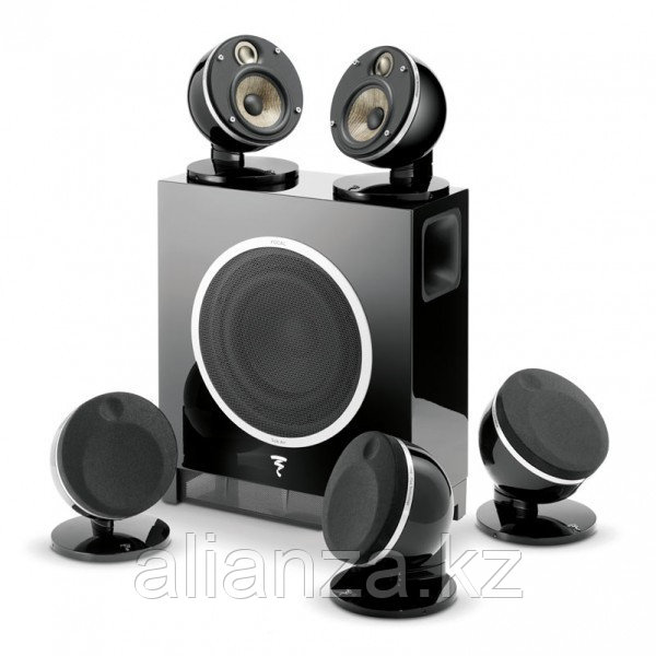 Комплект акустических систем Focal JMLab MULTIMEDIA DOME PACK 5.1 FLAX & SUB AIR BLACK