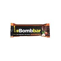 Батончик BombBar - Фундучное пралине в шоколаде, 40 гр, фото 1