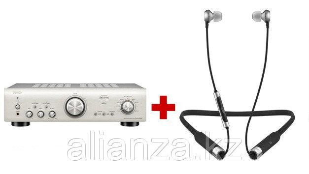 Интегральный усилитель Denon PMA-800NE Premium Silver + RHA MA650 Wireless