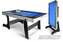 Бильярдный стол складной Start Line Play Компакт 6фт Пул (с комплектом)