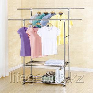 Гардеробная вешалка для одежды металлическая Youlite YLT-0321-01FB, фото 2