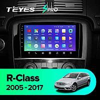 Автомагнитола Mercedes R-Class Teyes Spro Android