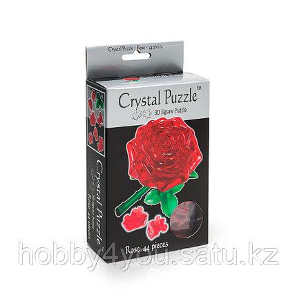 3D головоломка Роза красная, фото 2