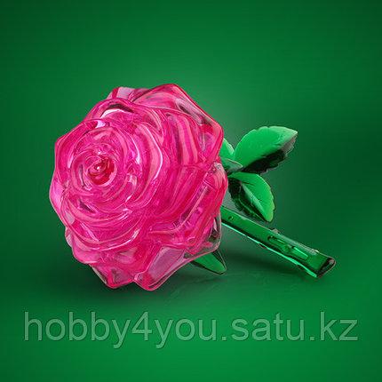 3D головоломка Роза розовая, фото 2