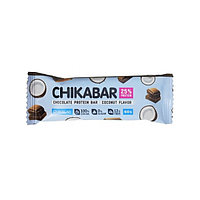 Батончик Chikalab - ChikaBar (Кокос с шоколадной начинкой), 60 гр, фото 1