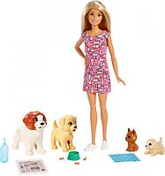 Игровой набор Barbie с питомцами
