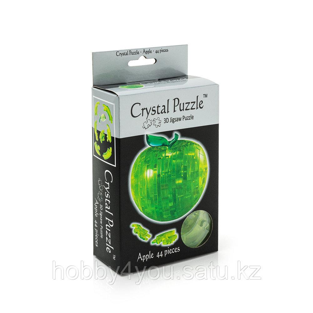 3D головоломка Яблоко зелёное
