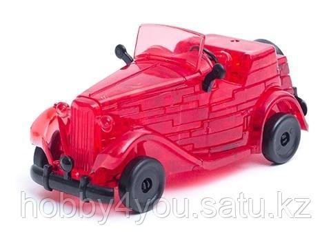 3D головоломка Автомобиль Красный, фото 2