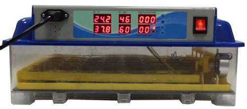 Индикаторы расположены на боковой панели, позволяя следить за показателями в инкубационной камере на рассстоянии от прибора