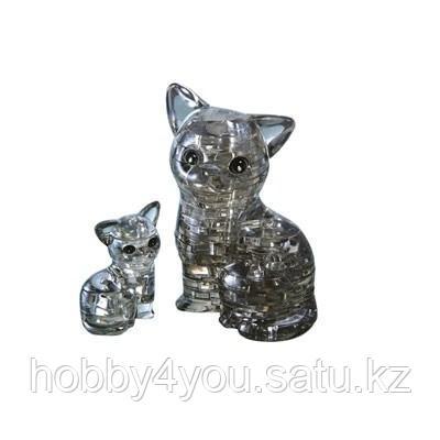3D головоломка Кошка чёрная, фото 2