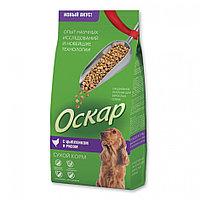 """Сбалансированный Сухой корм """"Оскар"""" для собак средних пород с цыпленком и рисом 2 кг"""