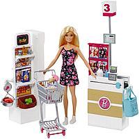 Набор с куклой Barbie Супермаркет