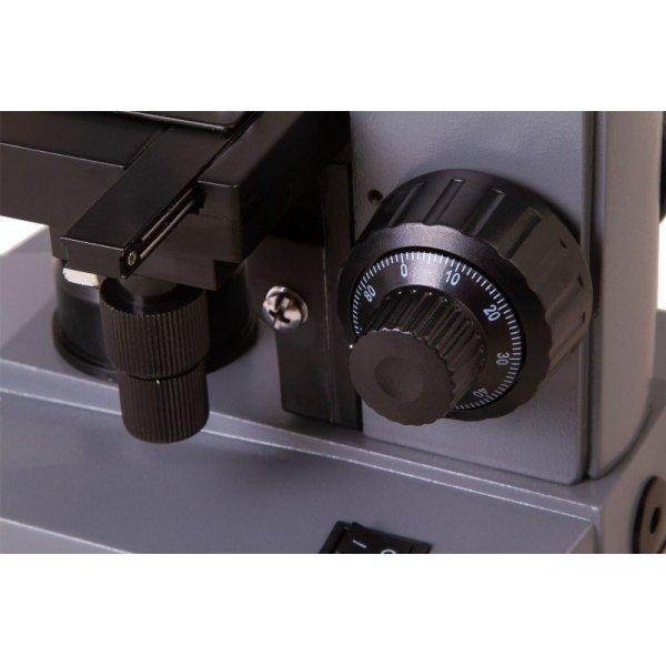 Цифровой монокулярный лабораторный usb микроскоп Levenhuk (Левенгук) D320L PLUS, 3,1 Мпикс