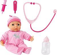 Игрушка пупс Bayer Dolls 38см с докторским набором, фото 1