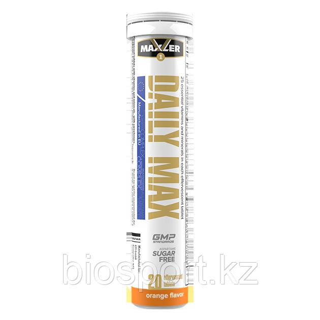 Витамины Maxler Daily Max Effervescent Tabs, 20 шипучих таблеток