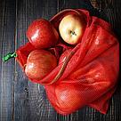 Синтетика. Многоразовый мешочек авоська для овощей и фруктов., фото 8