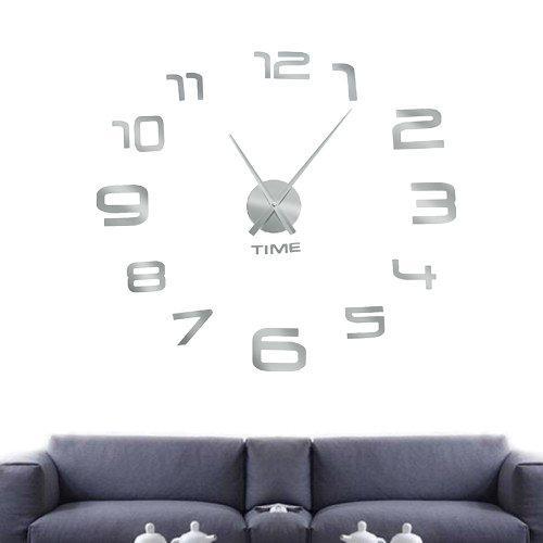 "Настенные  3D-Часы ""Арабские цифры "" диаметром 0,8-1,1м"